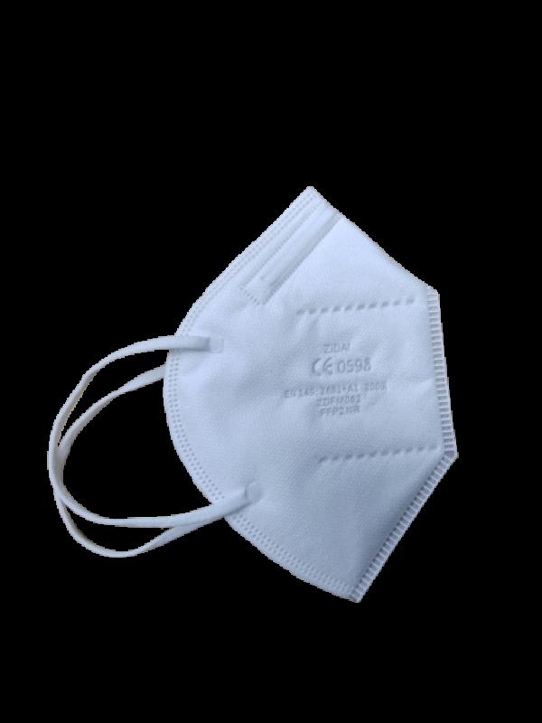 FFP2 - 3 D Masken CE0598 ZERTIFIZIERT  - EN149:2001+A1:2009 - partikelfiltrierenden Halbmasken - Atemschutzmaske, Partikelfiltermaske - 20 Stück - 0,54€ pro Stück