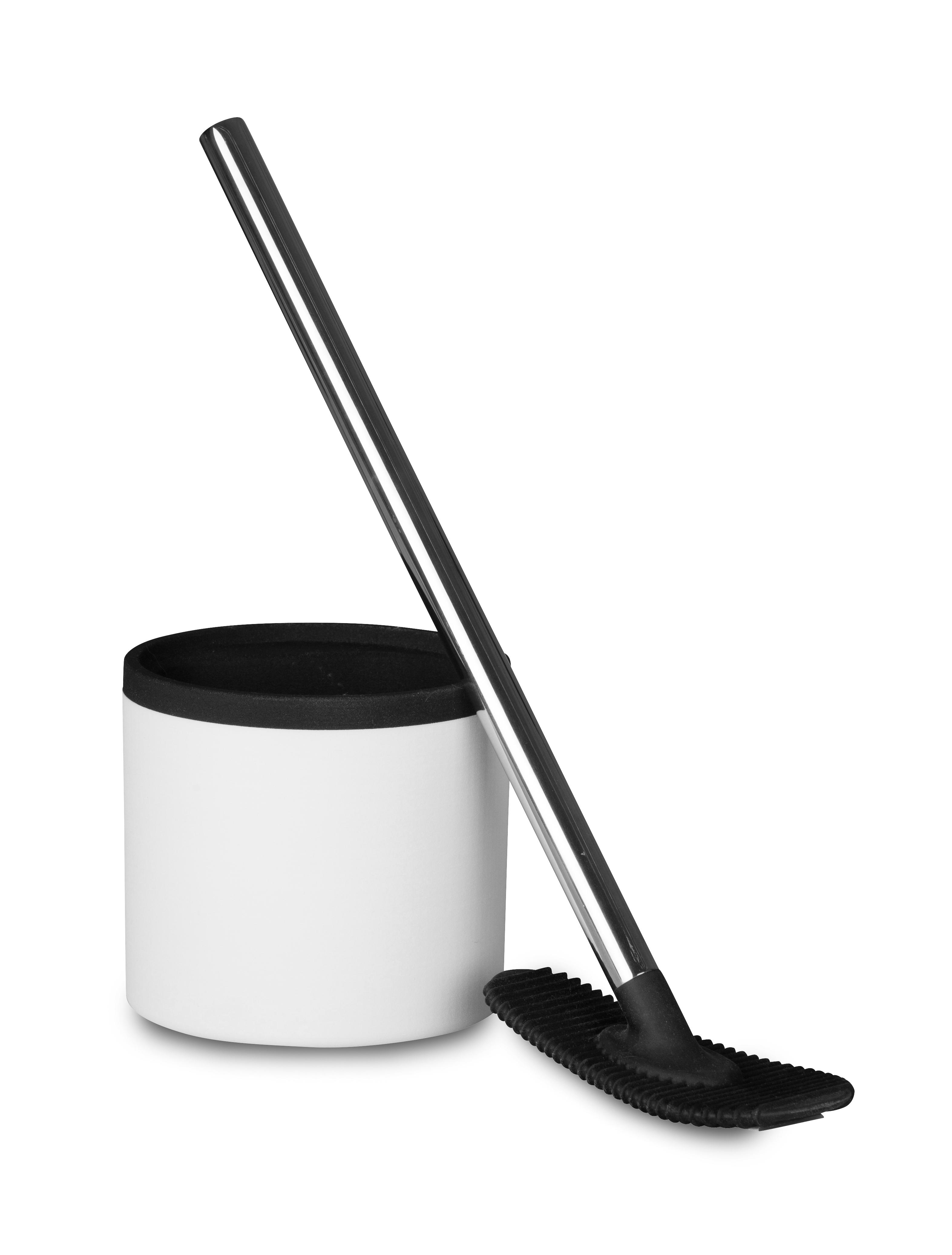 betec ideen rund f r haushalt und bad silikon toilettenb rste wc super clean schwarz wei. Black Bedroom Furniture Sets. Home Design Ideas