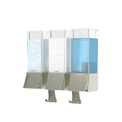 betec ideen rund f r haushalt und bad linea iii seifenspender. Black Bedroom Furniture Sets. Home Design Ideas